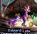 Lida and Edzard Test Creatures (Pack C3DS Norn)