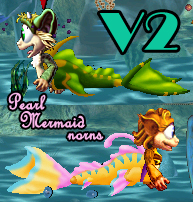Pearl Mermaid Norns (C3DS | 14 likes)