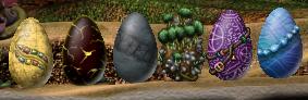Elemental egg sprites (C3DS Misc)