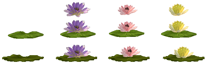 Water Lilies (Sprites | 13 likes)