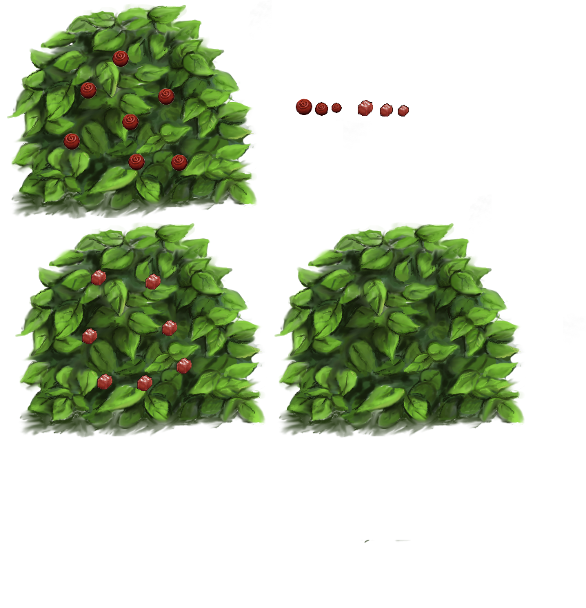 Chocolate Bushes (Click to enlarge)