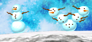 Snowmen in Chione (Click to enlarge)