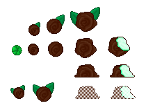 Mint Chocolate Roses (Click to enlarge)
