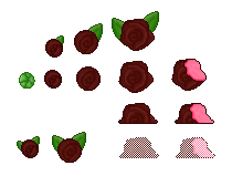 Strawberry Chocolate Roses (Click to enlarge)