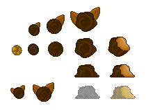 Caramel Chocolate Roses (Click to enlarge)