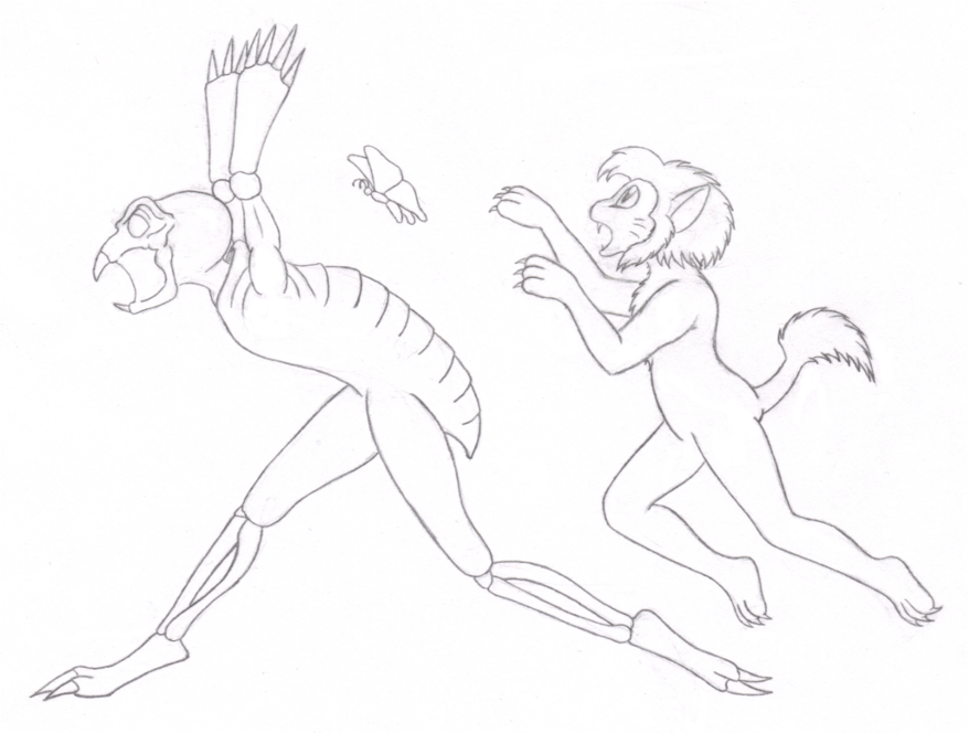 Run Away! (Click to enlarge)