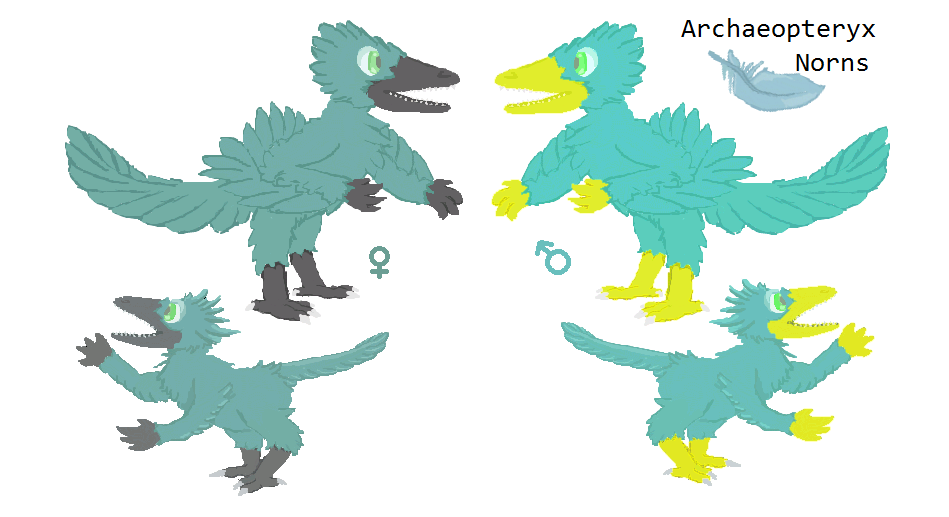 Archaeopteryx Norn Concept (Art)