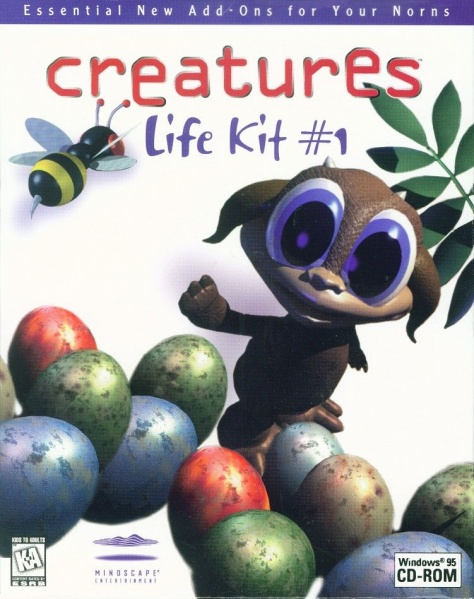 Creatures Life kit #1 Front (Click to enlarge)