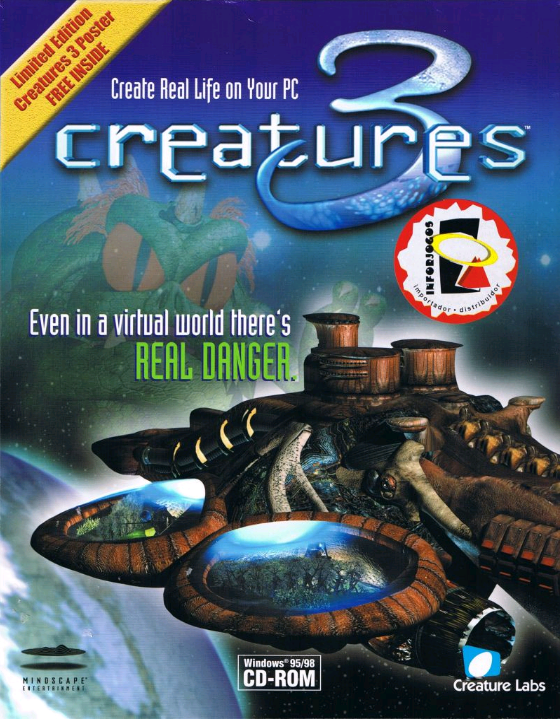 Creatures 3 Box Art - Front (Click to enlarge)