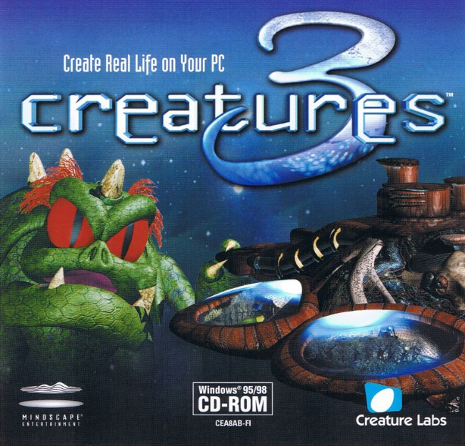 Creatures 3 Jewel Case - Front (Click to enlarge)