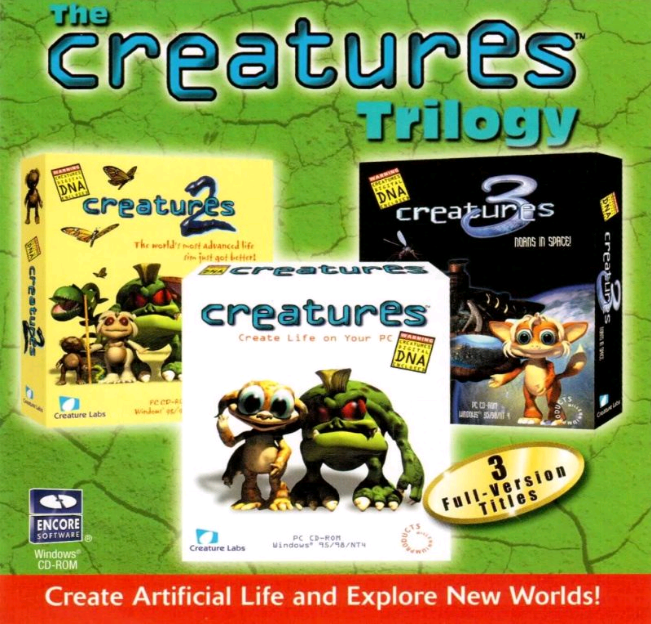 Creatures Trilogy Jewel Case F (Click to enlarge)