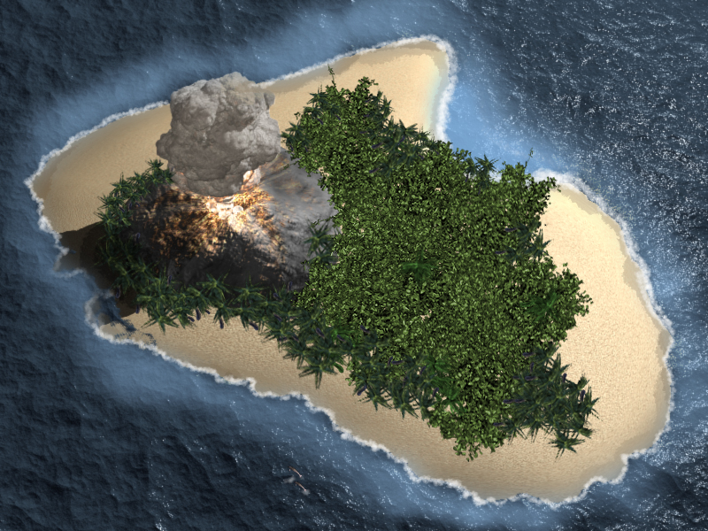 Contest #1: Survivor Island (Click to enlarge)