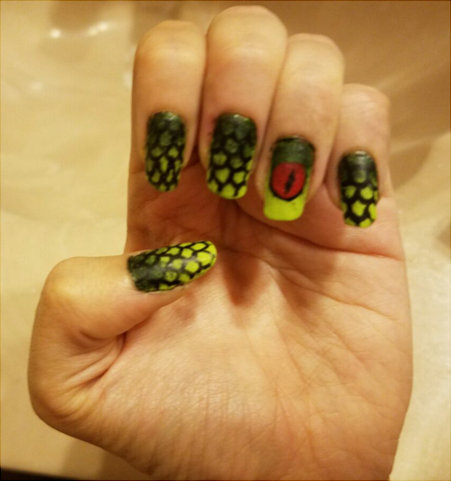 Grendel Nail Art (Click to enlarge)