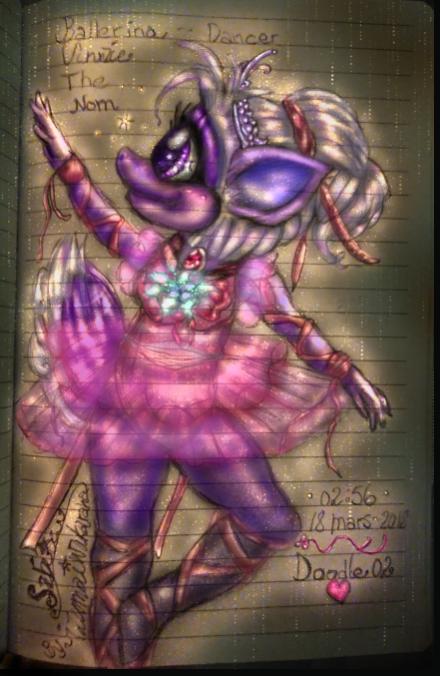 02 Doodle Vinzie the Ballerina (Click to enlarge)
