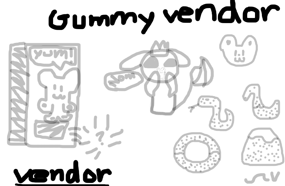 Gummy Vendor Sprite Concept (Click to enlarge)