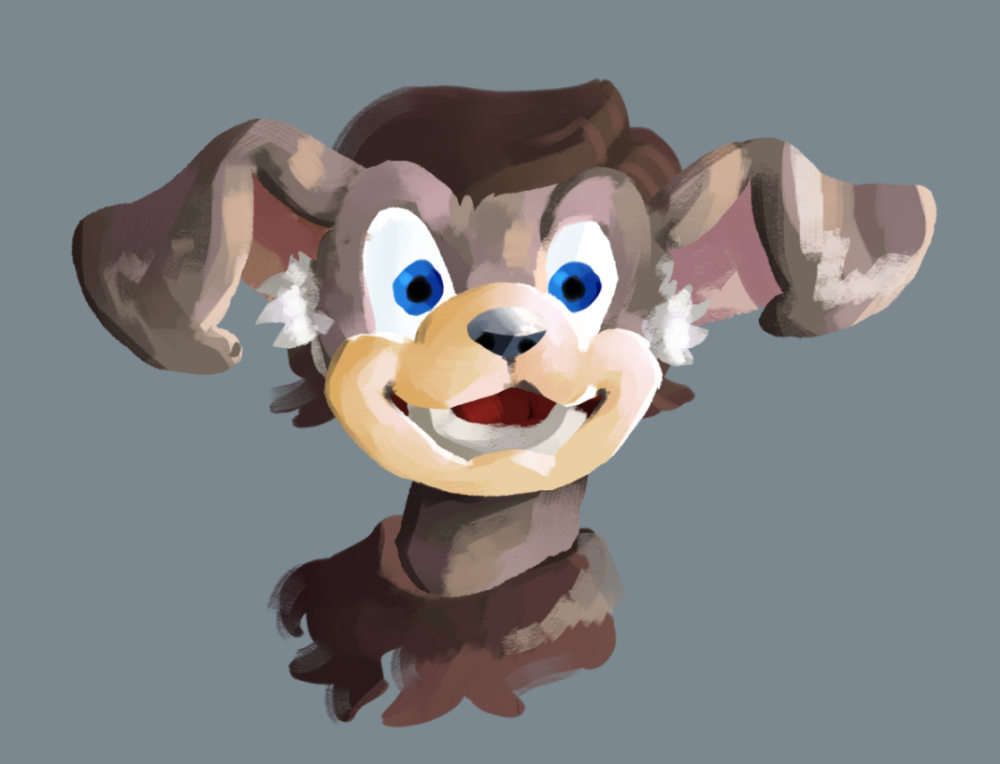 Lineless attempt of a norn (Art)