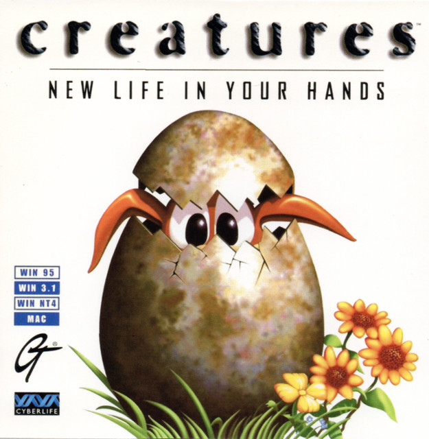 Creatures jewel case - Front (Image Credit: FieryBirdyThing)
