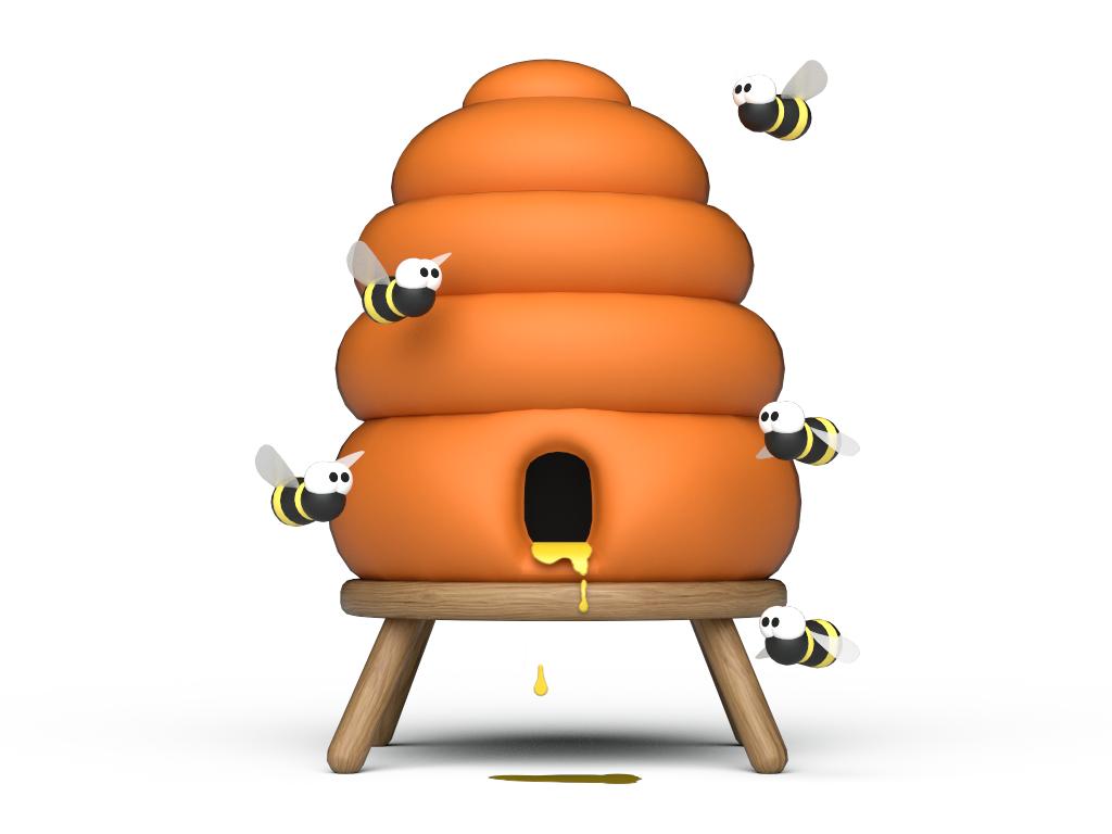 Creatures 1 Beehive (Revamped) (Image Credit: C-Rex)