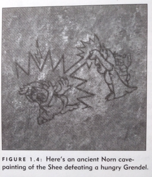 Ancient Norn cave painting (Promos)