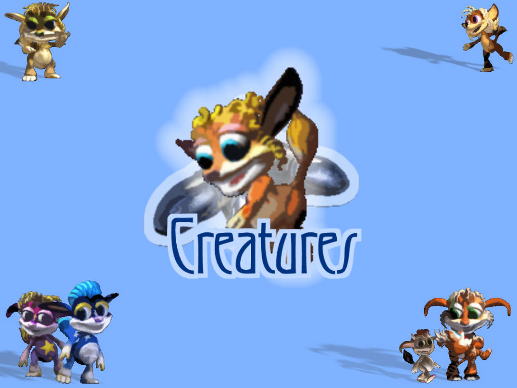 Creatures (C3DS) Desktop (Click to enlarge)