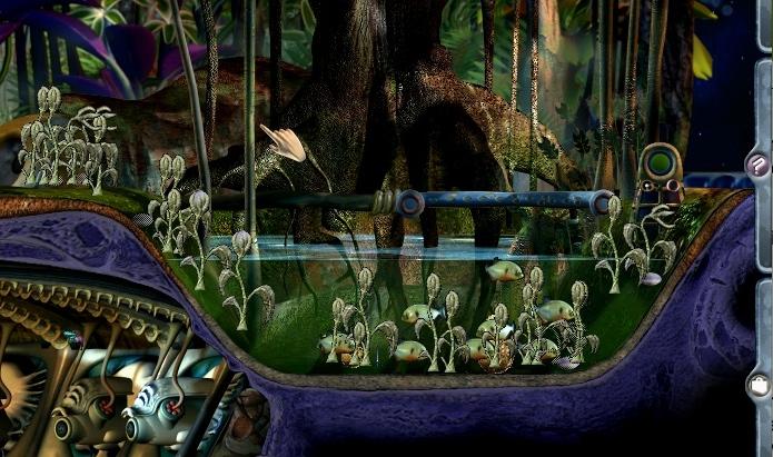 Terraka Weed in Grendel Pond (Click to enlarge)
