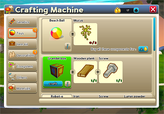 Creatures Online: Crafting Machine!